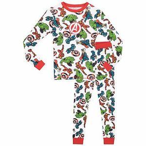 Avengers-Snuggle-Fit-Pyjamas-Boys-Marvel-Avengers-Pjs-Avengers-Pyjama-Set