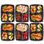 Repas-Preparation-Nourriture-Conteneurs-Boite-Dejeuner-Couvercles-Reutilisable miniature 3
