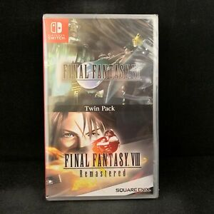 Final-Fantasy-7-VII-amp-8-VIII-Twin-Pack-Nintendo-Switch-Physical-English-Cover