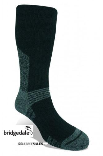 Bridgedale Essential Kit SUMMIT BLACK Military Spec Tactical Hiking Socks