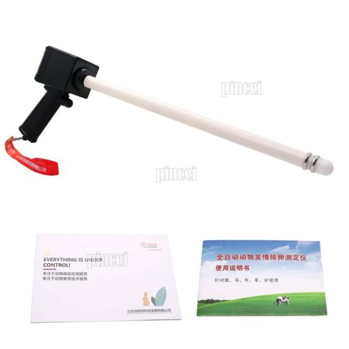 """Cow Horse Ovulation Detector Tester 2.6/"""" LCD Auto Detection Veterinary Device"""