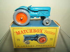 Matchbox Lesney Modèle No.72a    Major Tractor Mib   Fordson