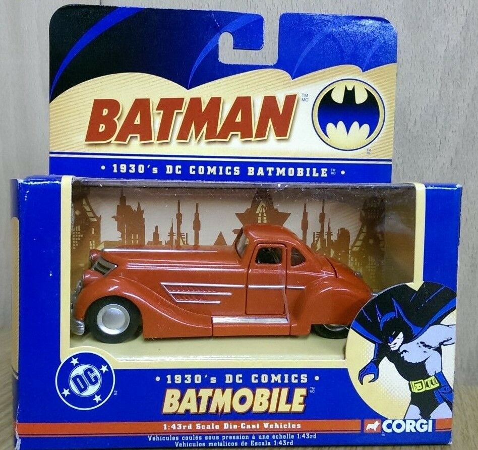 Corgi 77323 batman dc comics 1   43 1930er batmobil