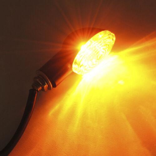 12V 10W Motorcycle LED Turn Signal Indicators Amber Blinker Light  L Hg rtBWUS