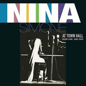 Nina-Simone-At-Town-Hall-New-Vinyl-LP-Bonus-Tracks-Holland-Import
