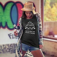Do Not Keep Calm Call In Sick And Go Get A Tattoo T-shirt Black