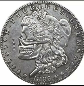 Hobo-Nickel-1893-Usa-Morgan-dollar-Coin-Copy-Two-Face