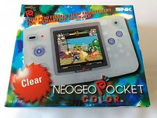 Excellent SNK NEOGEO NEO GEO POCKET Color Clear Color Console Boxed set -C1-
