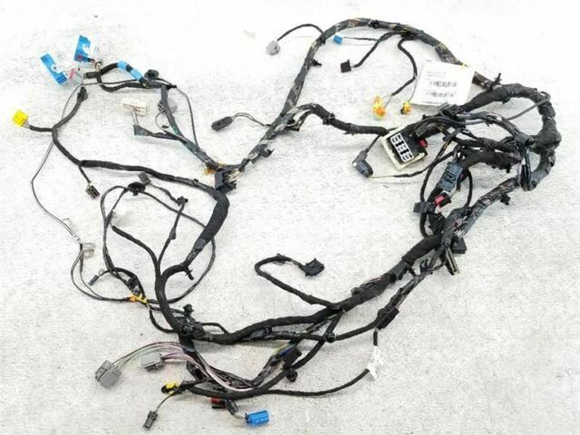 2014 Ford Focus Turbo At Oem Dashboard Wiring Wire Harness