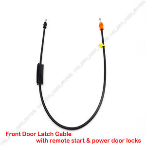 YOT Door Latch Cable fits 2010-2013 Silverado /& Sierra with power door locks