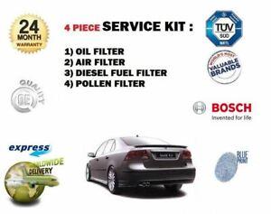 Saab 9-3 93 1.9 TiD Tid 2005-2009 Diesel Fuel Filter