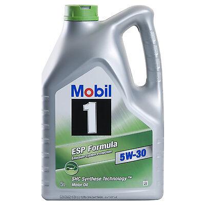 Mobil 1 ESP FORMULA 5W-30 Longlife 3 5 Liter VW Audi Seat Skoda 504.00 507.00 5L