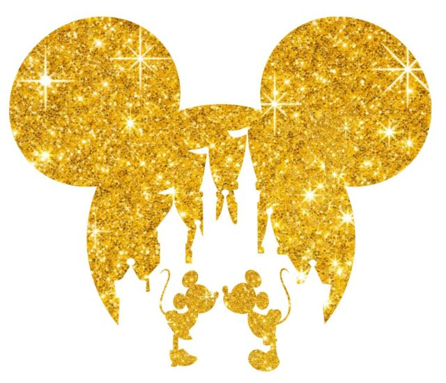 "9.3/"" Disney Cruise Pirate Mickey iron on rhinestone transfer for shirt"