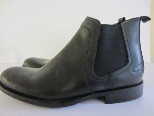 7 Base London Black Uk Waxy Dartmouth X r1b 10 Boots Taglie bottom Ankle Mens qSqFzaw