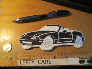 1990-BLACK-MAZDA-MIATA-MX-5-EMBROIDERED-CLOTH-PATCH-SEW-ON-TYPE-stock-3