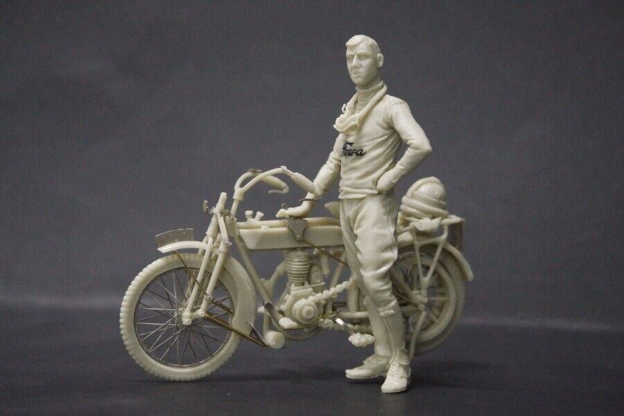 CIX 1 35 WWI Italian Frera 4HP 1914 Civil Version w Pilot