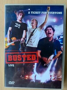 Busted-Ticked-For-Everyone-DVD-British-Boyband-Live-Concert