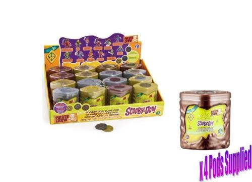 SCOOBY DOO PIRATE CREW Slime//Melma BACCELLI pacco da 4 Slime Baccello