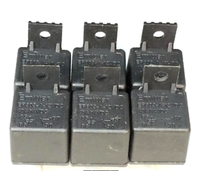 12V-40A-Heavy-Duty-Relay-Bosch-Style-6-PACK-SPST-4-Pin-1-YEAR-EXCHANGE