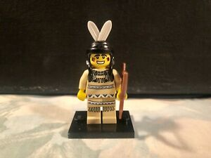 LEGO-Tribal-Hunter-Collectible-Minifigure-Series-1-8683-Complete-Genuine