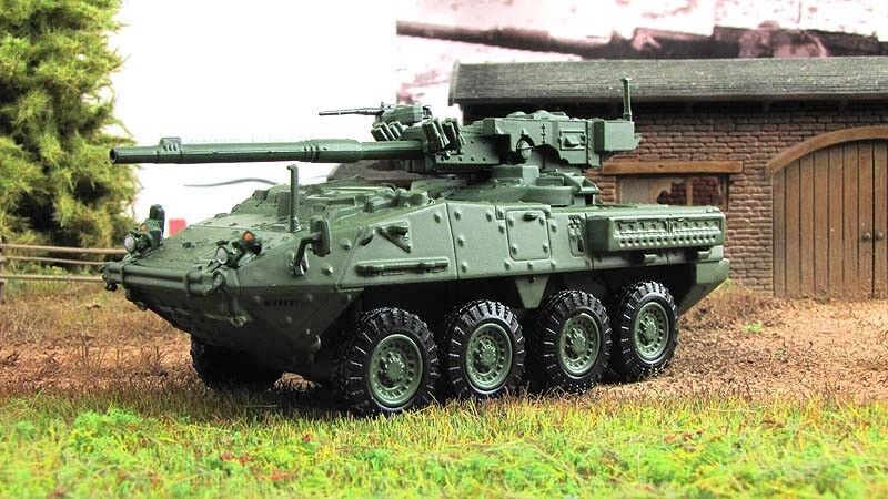 M1128 Stryker Armored Personnel Carrier 2002 Year 1 72 Scale Diecast Model