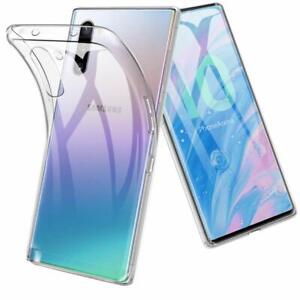 For-Samsung-Galaxy-Phones-Rubber-Hybrid-Silicone-Gel-TPU-Clear-Thin-Case-Cover