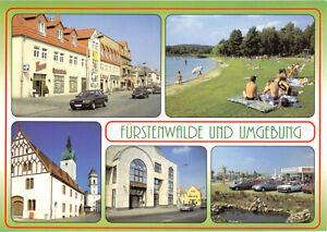 AK-Fuerstenwalde-Spree-und-Umgebung-fuenf-Abb-um-2000