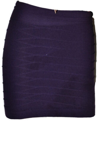 Details about  /Sexy Purple Texture Micro Mini Carnival Party seamless o//s Mini Skirt New