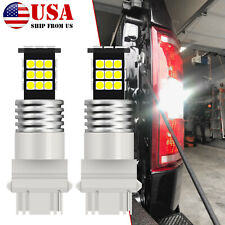 For Ford F150 F250 F350 White Smd Led Backup Reverse Tail Light Bulbs Super Duty