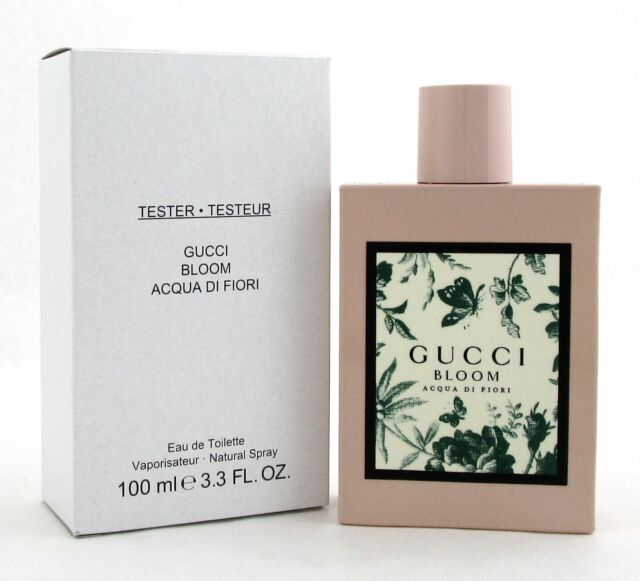 5cde127e9 Gucci Bloom Acqua Di Fiori for Women 3.3 oz. Eau de Toilette Spray New  Tester