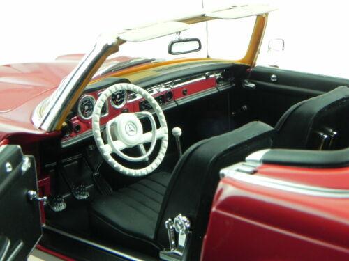 Mercedes R113 280SL Pagode 1969 dunkelrot Modellauto 183520 Norev 1:18