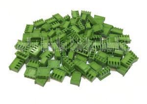 XH JST 2.5mm 4-Pin Female 3S RC Battery Connector Socket BLACK Color DIY 100pcs
