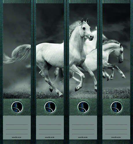 File Art 4 Design Ordner-Etiketten White Horses..............................465