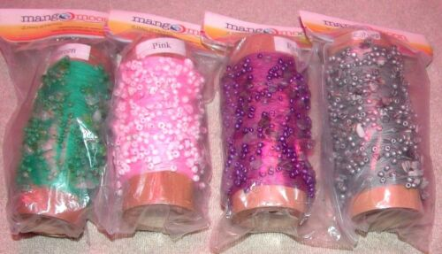 EP Mango Moon Zing String Beads /& Stones on Cotton Thread Knitting Crochet Yarn