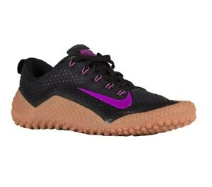 purchase cheap 6820d dc95a Image is loading Nike-Free-Trainer-1-0-Bionic-Black-Vivid-