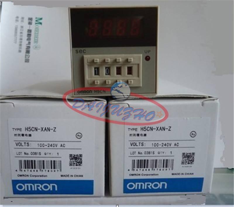 OMRON Timer H5CN-XAN-Z H5CNXANZ 100-240VAC New