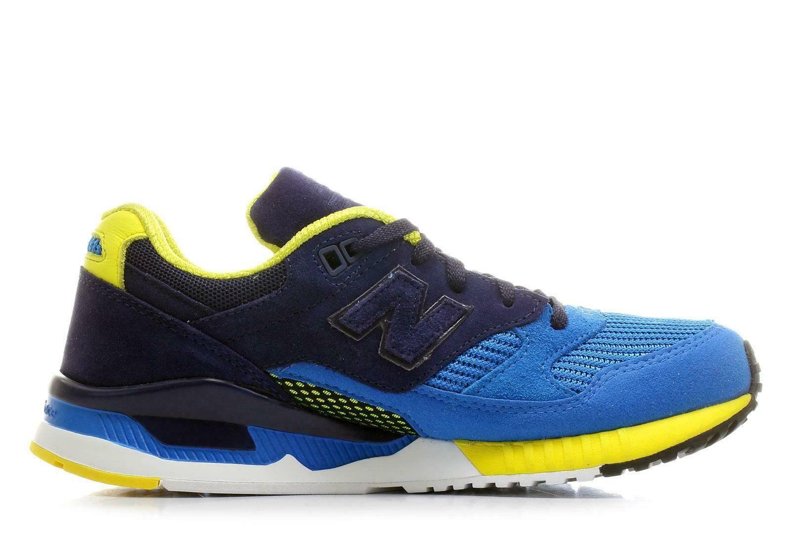 Mens NEW BALANCE 530 azul Trainers M530RTB