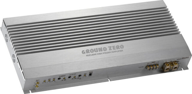 Ground Zero Gzna 2850XII 2-Kanal Classe a B Amplificatore Fase Finale 3000 Watt