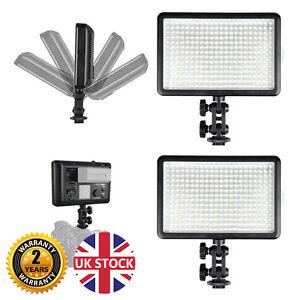 Image is loading Powerful-LED308D-Portable-Video-Lights-DSLR-DV-Film-  sc 1 st  eBay & Powerful LED308D Portable Video Lights DSLR DV Film interview ...