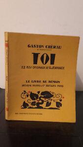 Gaston Cherau - Contigo - 1927 - Edición Artheme Fayard