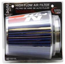 "K&N 3"" to 4"" Round Tapered Universal Air Intake Cone Filter Chrome Car/SUV/Truck"