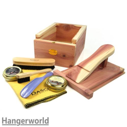 Hangerworld™ Set d/'Entretien Nettoyage Chaussures en Bois de Cèdre Naturel