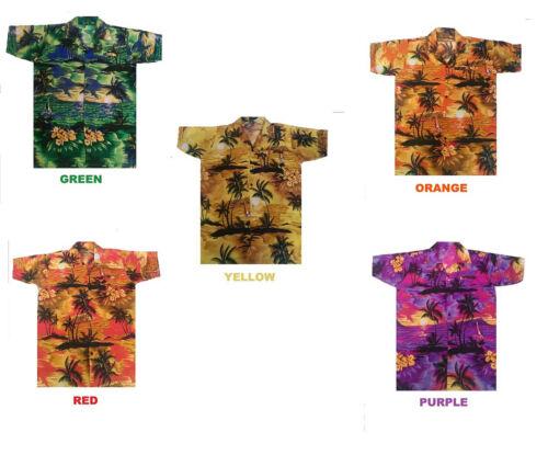 Camisa Hawaiana Para Hombre Despedidas De Soltero Playa HAWAII ALOHA Fiesta