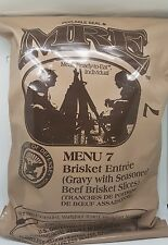 US Mre ration, military food, outdoor food. No vegetarian. Up to 3000 calories