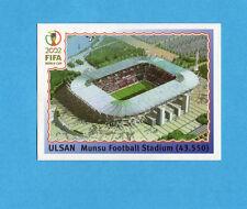 KOREA/JAPAN 2002-PANINI-Figurina n.14- ULSAN MONSU STADIUM -NEW BLUE BACK