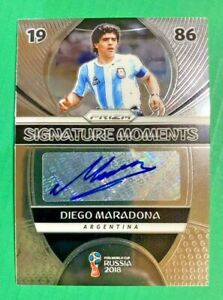 2018 Panini Prizm World Cup 1986 Signature Moments Diego Maradona Autograph Auto