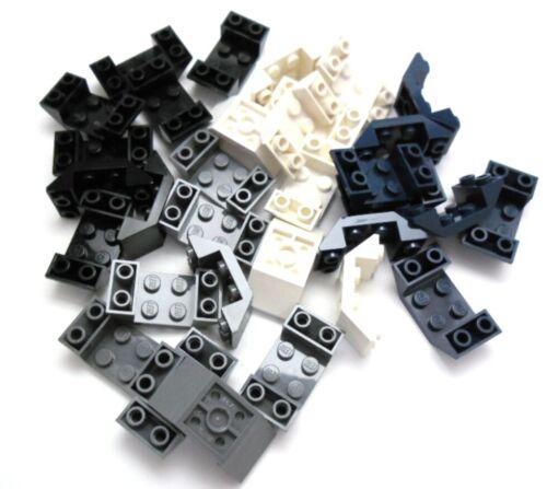 Lego 8x Dachstein planos inclinados piedra 2x4 tachas inversamente selector de colores 4871.