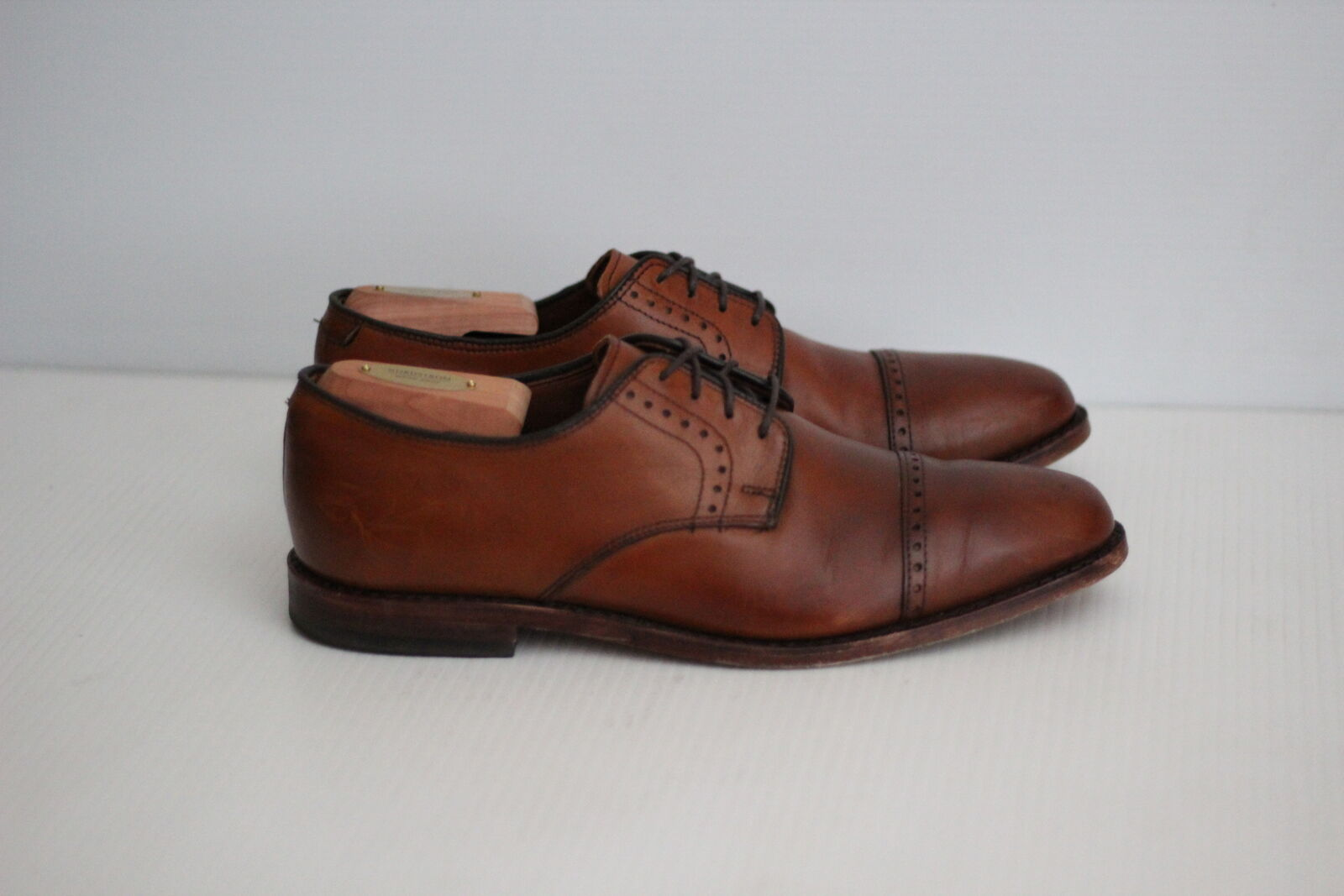 Allen Edmonds 'Clifton' bluecher Cap Toe Oxford - Walnut Brown - 9 D  (C72)