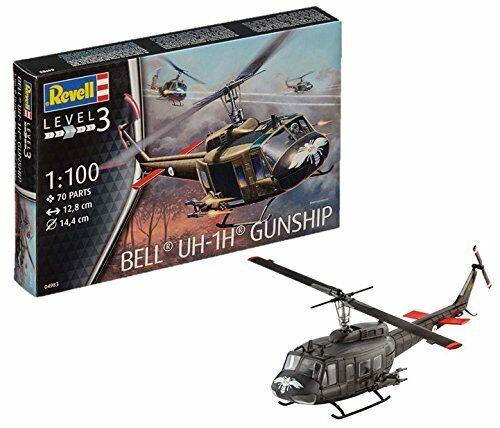 Bell UH-1H Gunship 1:100 Revell Model Kit
