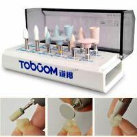 12pcs Dental Polishing Kit For Composite Resin Oral Polisher Grinder Us Shipping
